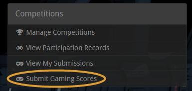 Submitting Gaming Scores
