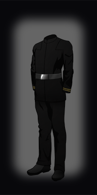 Legionuniform black plainnone