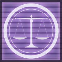 And justice for all purple